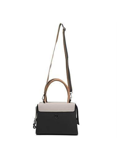 TH Bags   Kadın Omuz Çantası Th-Yk14302 Siy Siyah
